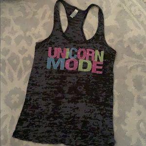 Burnout Unicorn Workout tank